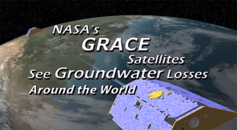 GRACE data over the United States, 2003-2012