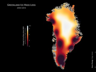 Greenland Ice Loss 2003-2013