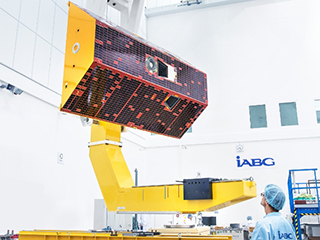 GRACE-FO Satellites During Testing (View 2)
