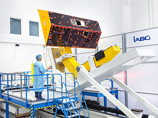 GRACE-FO Satellites in Testing